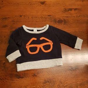 Spectacles sweatshirt baby